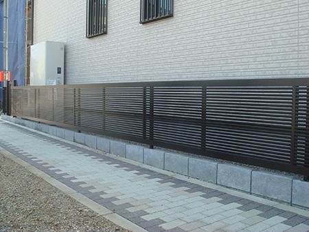 フェンス設置の際のポイント