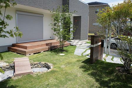 庭作りに使われる素材
