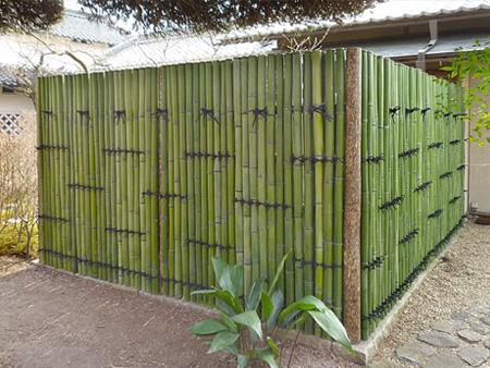 竹垣の価格